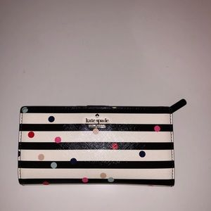 Kate Spade Confetti Dot Stacy Continental Wallet